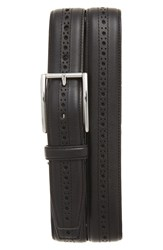 Cole Haan Men's Perforated Leather Belt