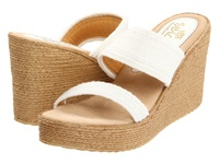 Sbicca Vibe White Women's Wedge Shoes