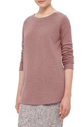 Akris Punto Women's Contrast Hem Wool And Cashmere Sweater