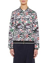 Ted Baker Colour By Numbers Toledy Zip Front Bomber Jacket Grey