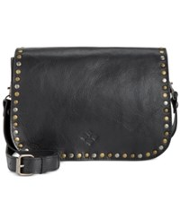 Patricia Nash Vitellia Flap Crossbody Black