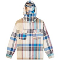 Engineered Garments Cagoule Popover Madras Shirt Jacket Multi