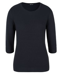 Olsen 3 4 Sleeves Jumper Navy