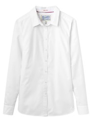 Joules Oxford Semi Fitted Shirt Chalk