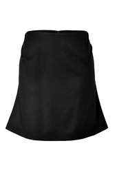 Prabal Gurung Flared Martingale Skirt In Black