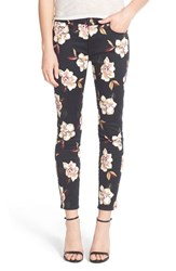 Women's 7 For All Mankind Print Ankle Skinny Jeans Calypso Floral