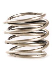 Kelly Wearstler Small Twisted Ring Metallic