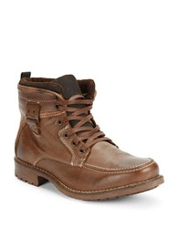 Gbx Tate Leather Boots Brown