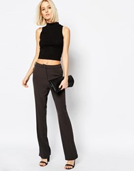 Weekday Classic Fitted Trousers Black