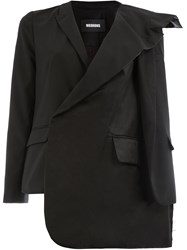 Moohong Asymmetric Jacket Black