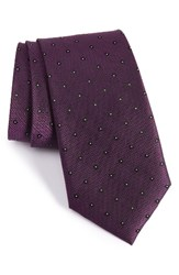 Calibrate Men's Handmade Dot Silk Tie