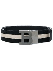 Bally B Buckle Belt Black