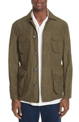 Eidos Napoli Ragosta Field Jacket Winter Moss
