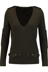 Tom Ford Cashmere Sweater Army Green