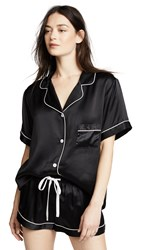 Kisskill Silk Short Pj Set Black