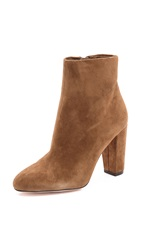 Jean Michel Cazabat Noni Short Suede Booties Nut