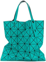 Issey Miyake Bao Bao Embroidered Tote Women Pvc One Size Green