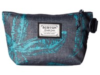 Burton Utility Pouch Small Tropical Print Wallet Multi