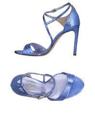 Giancarlo Paoli Sandals Lilac