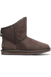 Australia Luxe Collective Woman Cosy X Shearling Ankle Boots Dark Brown