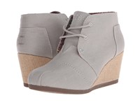 Bobs From Skechers High Notes Melodies Taupe Women's Lace Up Boots