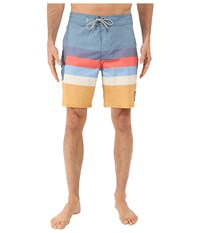 Vans Marview Boardshorts Blue Ashes Amber Gold Men's Swimwear Multi