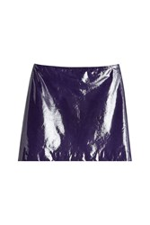 Nina Ricci Patent Leather Mini Skirt