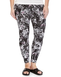 Marc Ny Performance Graphic Print Leggings Cherry Blossom