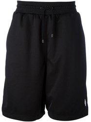 Marcelo Burlon County Of Milan Drawstring Shorts Black