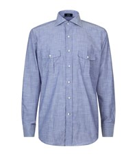 Peter Millar Chambray Shirt Male