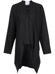 Lost And Found Rooms High Low Hem Shirt Black