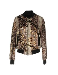 Angela Mele Milano Jackets Brown