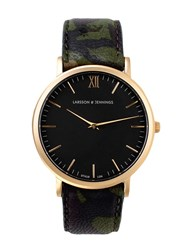Larsson And Jennings Lader Kolmarden X Voo Store Watch Black