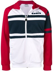 Diadora Zipped Up Sports Jacket Red