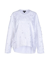 Giambattista Valli Sweatshirts White