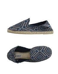 Manebi Footwear Espadrilles Men Black