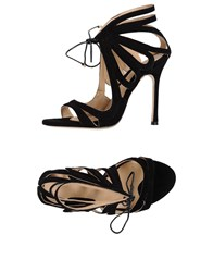 Chelsea Paris Sandals Black