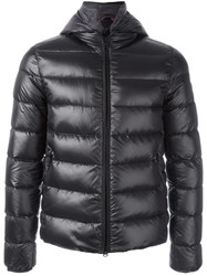 Fay Zip Up Padded Jacket Black