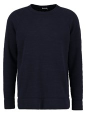 Filippa K Jumper Navy Melange Dark Blue