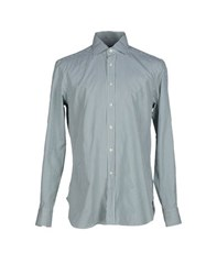 Mp Massimo Piombo Shirts Shirts Men Green