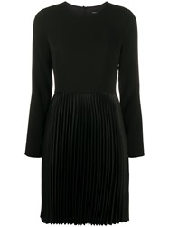 Theory Pleated Crepe Dart Dress 60