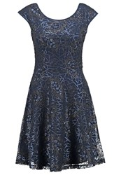 Yumi Cocktail Dress Party Dress Navy Dark Blue