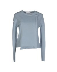 .. Merci Knitwear Cardigans Women Sky Blue
