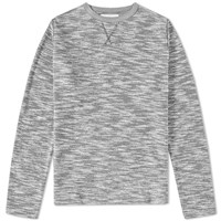 Officine Generale Japanese Terry Crew Sweat Grey