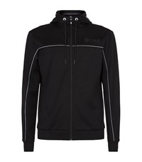 Hugo Boss Green Zip Up Hoodie Male Black