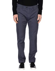 Seventy By Sergio Tegon Trousers Casual Trousers Men Slate Blue
