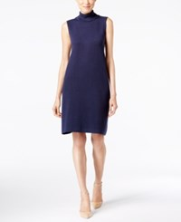 Alfani Turtleneck Sweater Dress Only At Macy's Navy Nautical