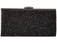 Jessica Mcclintock Laura Sparkle Beading Framed Clutch Black Clutch Handbags