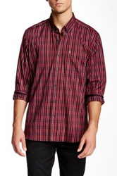 Victorinox Bond Long Sleeve Ibach Red Tailored Fit Shirt