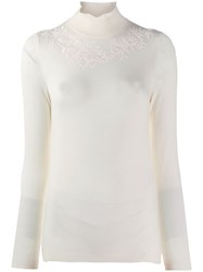 Etro Embroidered Floral Detail Jumper 0990